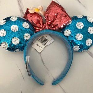 Minnie Mouse ears NWT